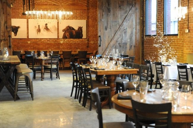Owner Hope Egan has transformed the Blue Dome District space into a rustic, chic dining room.