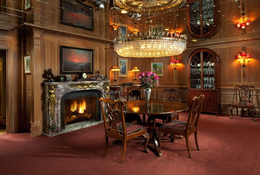 The Chambers-Toal dining room.