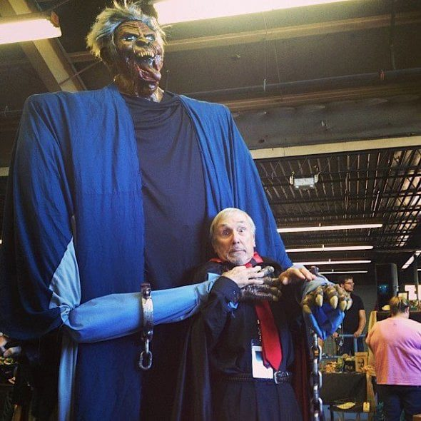 Count Gregore (John Ferguson) gets a fright at last year' Underground Monster Carnival in Oklahoma City. Photo courtesy Underground Monster Festival.