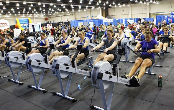 The Bart and Nadia Sports Experience includes sports and fitness activities for all ages. Image courtesy Bart Conner.