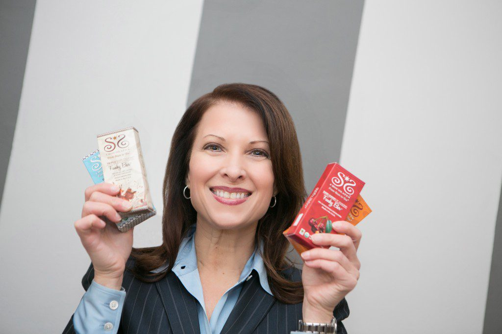 Julie McLean is founder of Sibu Sura Chocolate. Photo by Mary Kate McKenna.