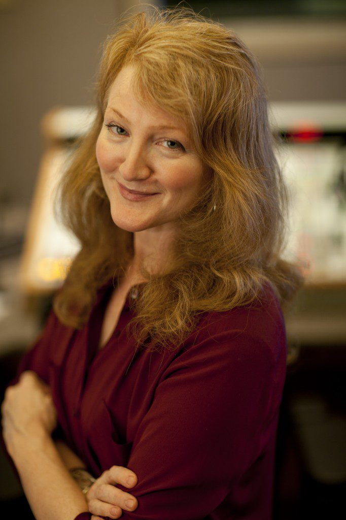 """Shawnee native Krista Tippett is the host of """"On Being,"""" a weekly radio show that airs across the nation on National Public Radio stations. Photo by Peter Beck."""