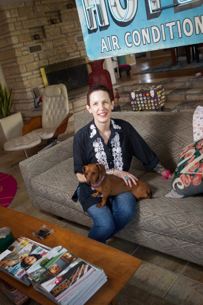 Marilyn Artus is pictured in her home. Photo by Brent Fuchs.