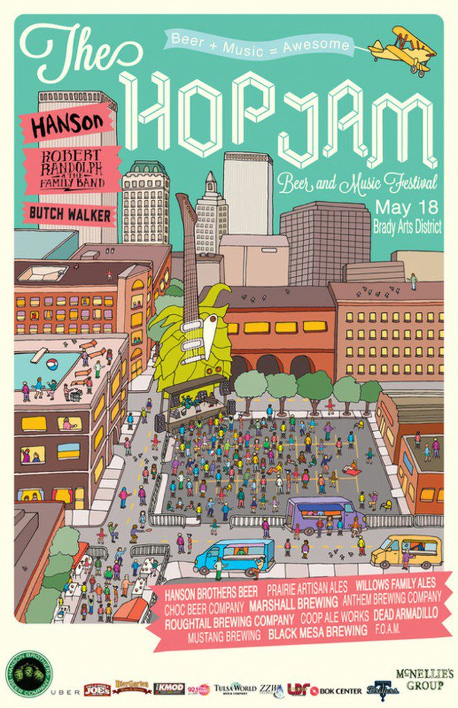 Hop Jam 2014 Poster Artwork
