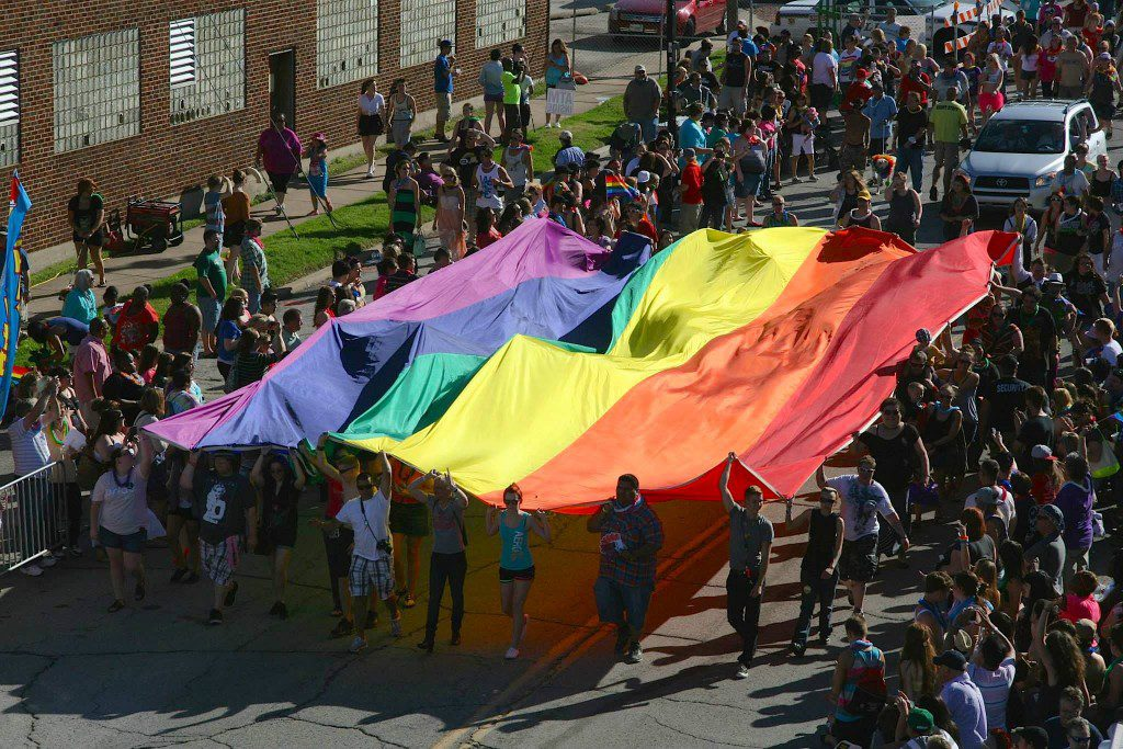 Photo by Tyler Bowen, courtesy Tulsa Pride.