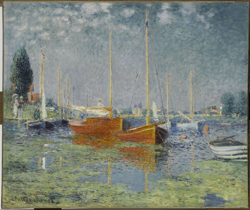 """Argenteuil"" by Claude Monet. Photo by Franck Raux© RMN-Grand Palais/Art Resource/NY."