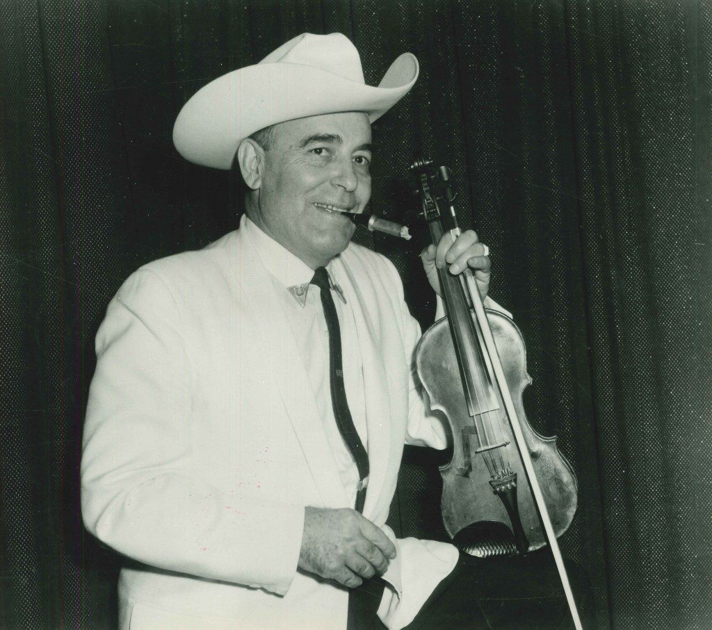 Bob Wills, the king of western swing. Photo courtesy John Wooley.