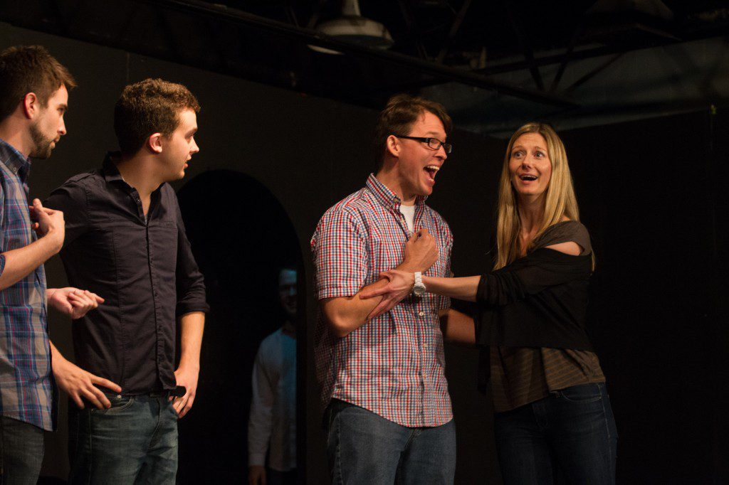 OKC Improv at play. Photo by Brent Fuchs.