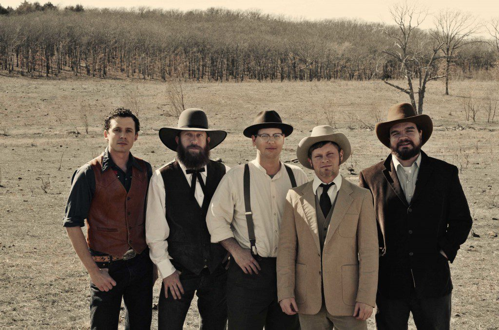 Turnpike Troubadours and friends play the Down in the Dirt concert. Courtesy.