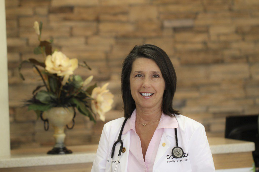 Dr. Tina Cooper delivers a plain and straightforward message of disease prevention to her patients and her tribe. Photo courtesy Chickasaw Nation.