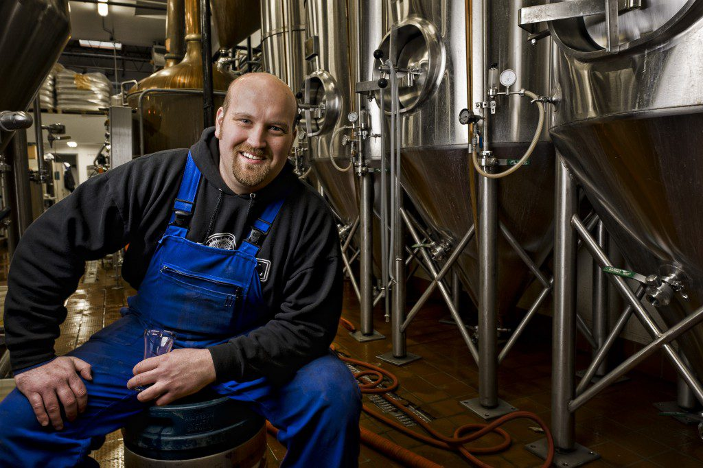 Eric Marshall and marhall brewing company  exemplify small business success in tulsa and oklahoma. Photo by jeremy charles