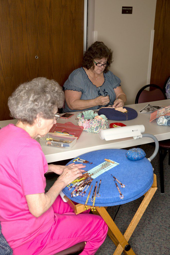 The Lacemakers Guild of Oklahoma will host the 20th Lace Embrace event, celebrating the craft and history of lacemaking. Photo by Brandon Scott.