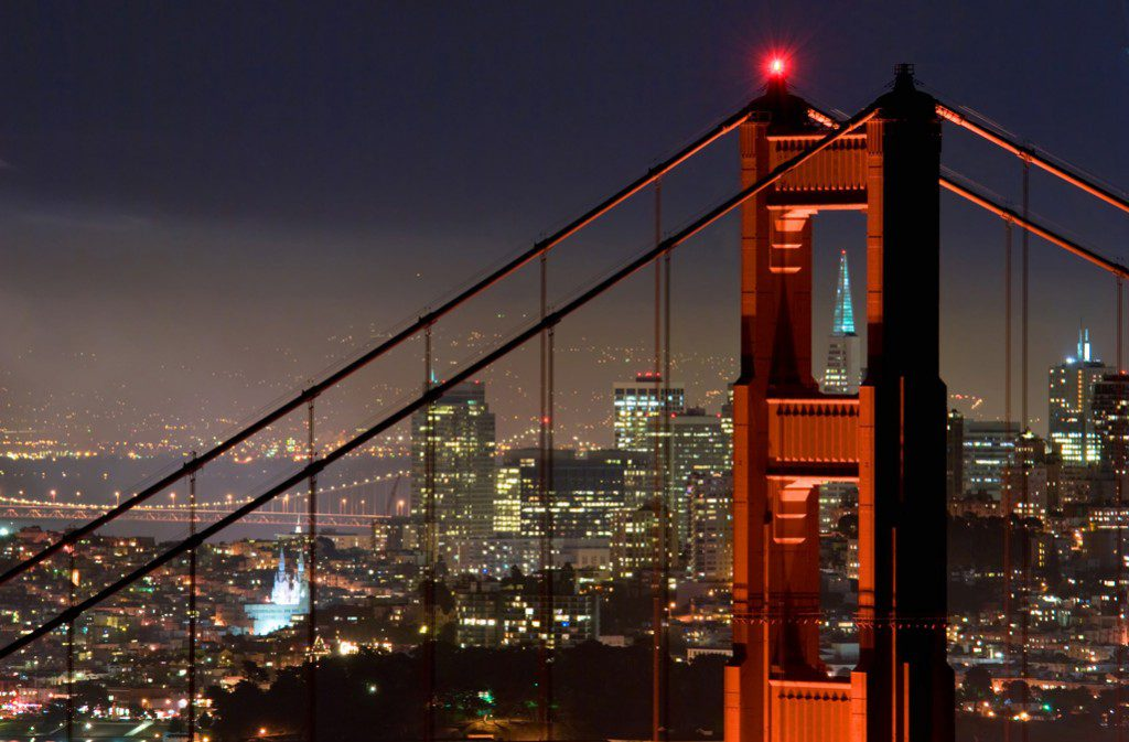 The Golden Gate Bridge is but one of the wonders San Francisco has to offer visitors. Photo by Can Balcioglu, courtesy San Francisco Travel Association.