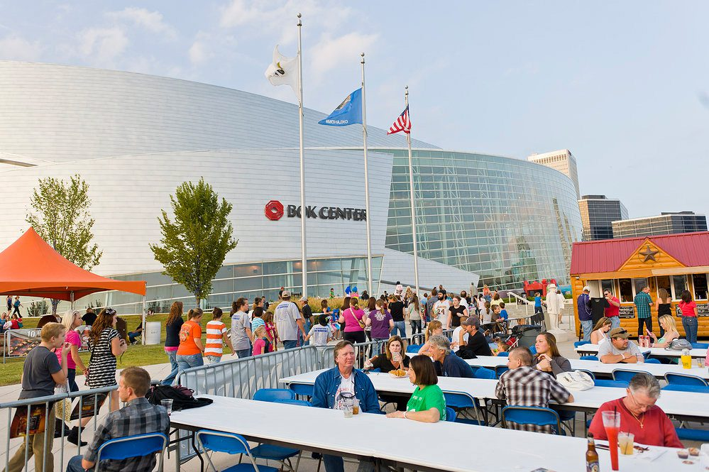 The Rib crib Rock 'n Rib festival is back with more great barbecue and  attractions. Photo courtesy BOK Center.