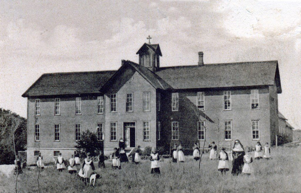 The sacred heart mission in konawa is said to be one of oklahoma's haunted sites.