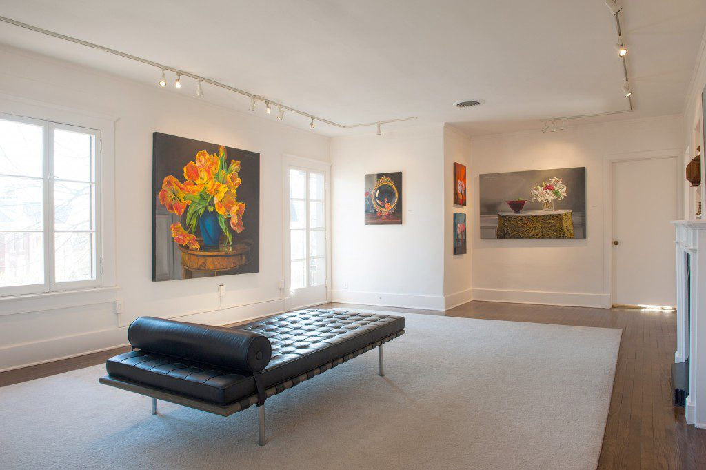Gordon's home also serves as his studio and a by-appointment-only gallery for his work.