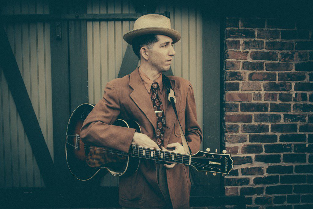 Pokey LaFarge. Photo by Glenn Hall.