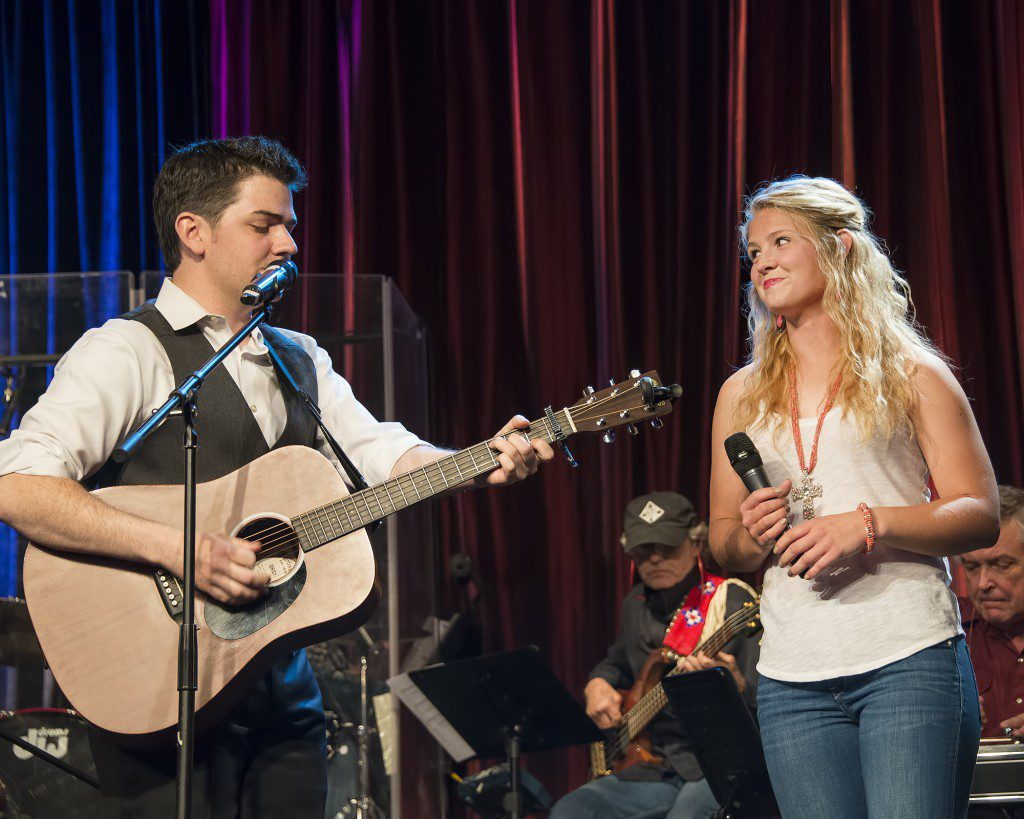 Undiscovered talent is in good supply at rodeo opry. Photo by Jack Corman.