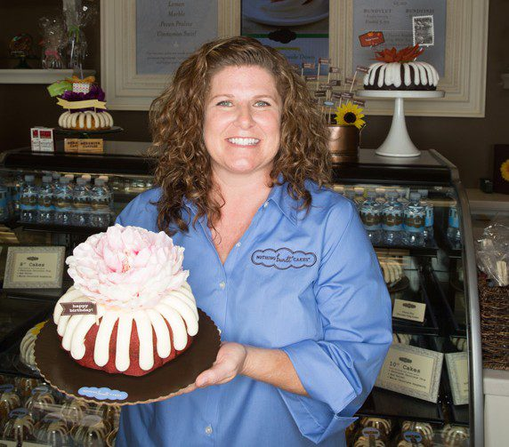 Marie Hicks, co-owner of Nothing Bundt Cakes in Tulsa, sells nostalgia. Photos by Brandon Scott.