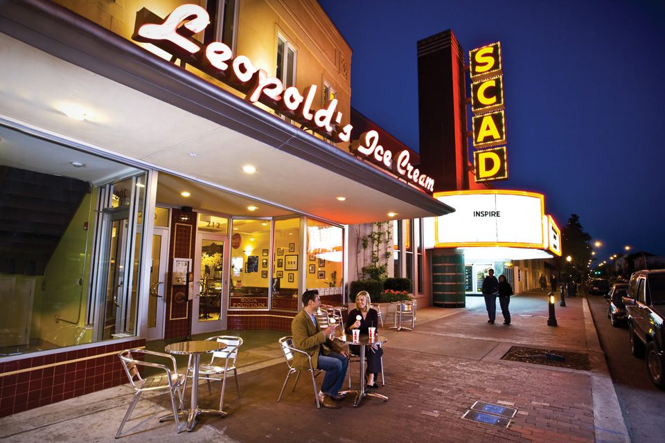 Leopold's Ice Cream is a culinary tradition in Savannah. Photo courtesy Visit Savannah.