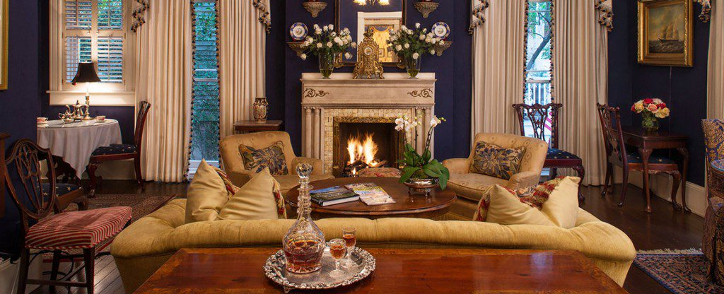 The Ballastone hotel is the essence of Southern decadence. Photo courtesy The Ballastone.
