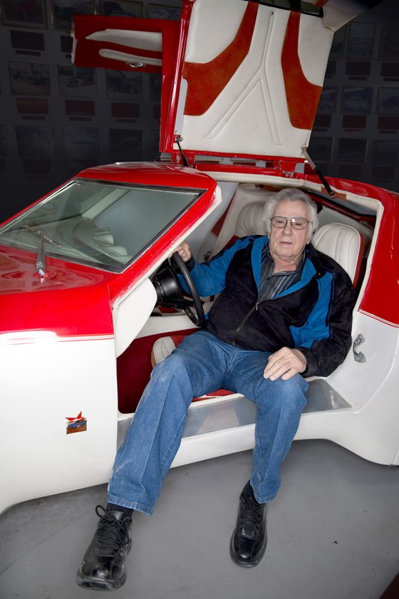 Custom car pioneer Darryl Starbird looks forward to the 20th anniversary of the national rod and custom car hall of fame museum in June. Photos by Brandon Scott.
