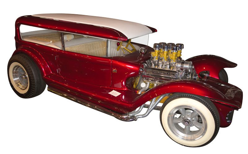 Lil' Coffin is among Starbird's best known custom cars.