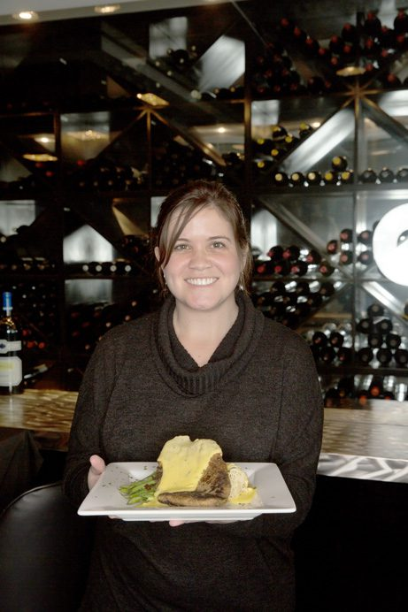 Jenna Krimbill, owner of La Crepe Nanou, located in The Vineyard shopping center in south Tulsa.