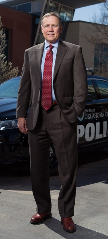 Oklahoma city police chief Bill Citty was a captain and public information officer at the time of the attack and helped organize a response effort as a first responder.
