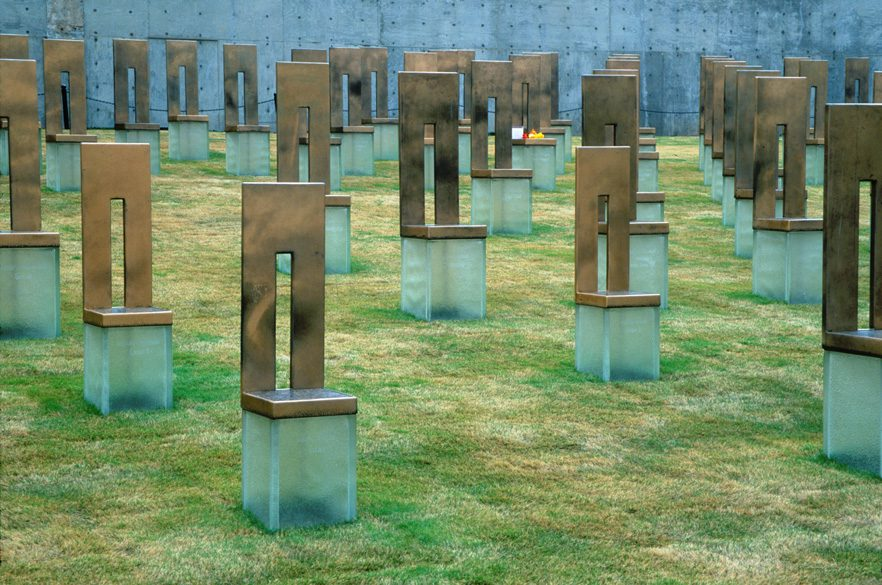 A tribute to the lives lost, at the Oklahoma City National Memorial & Museum.