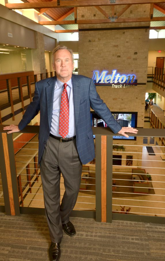 President Bob Peterson has put the health and wellness of his employees in the forefront with the newly designed headquarters. Photo by Dan Morgan.