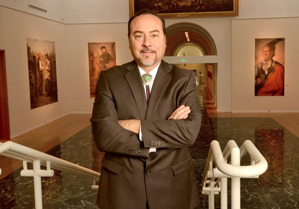 James Pepper Henry is the new executive director of Gilcrease Museum. Photo by Dan Morgan.