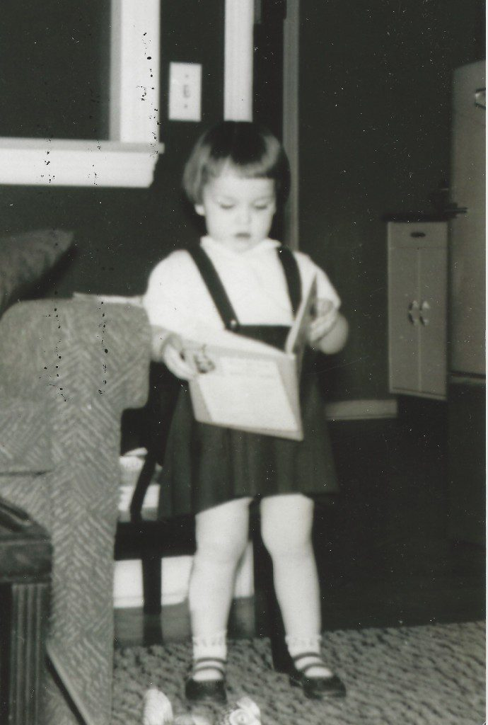 Miller had a love of books from an early age.