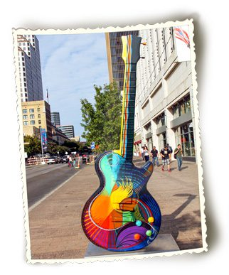 Austin, Texas, has a thriving and vibrant music scene.