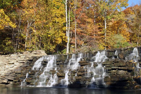 Devil's Den State Park is located south of Fayetteville.
