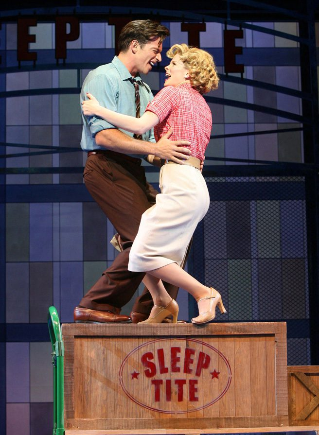 Kelli O'Hara stars opposite Harry Connick Jr. in the 2006 Broadway production of  The Pajama Game.