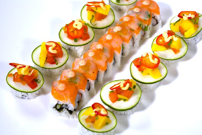 In the Raw, Best Sushi Photo by Scott Miller.