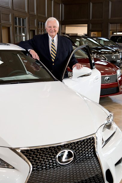 Don Thornton, owner of Lexus of Tulsa, Best Car Dealership. Photo by Natalie Green.