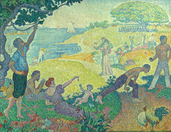 Paul Signac French, 1863–1935 In the Time of Harmony; the Golden Age Is Not in the Past, It Is Still to Come (Reprise), 1896 Kasser Mochary Art Foundation, Montclair, New Jersey