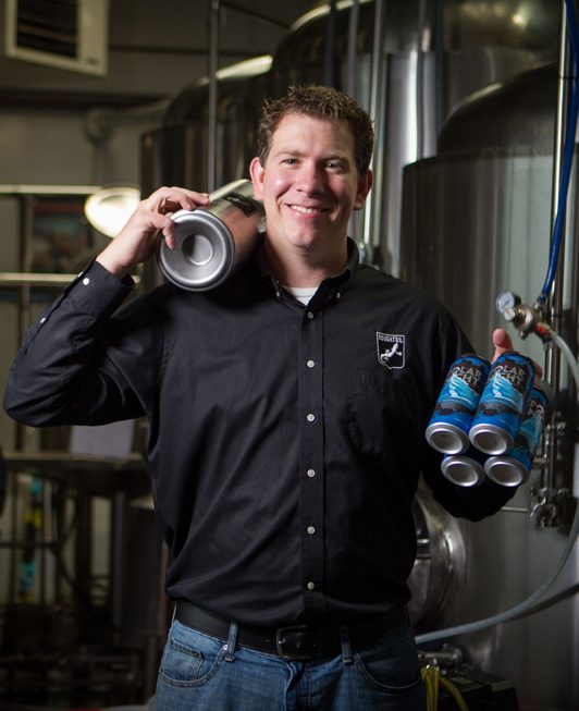 Blaine Stansel, co-owner of Roughtail.  Photo by Brent Fuchs.