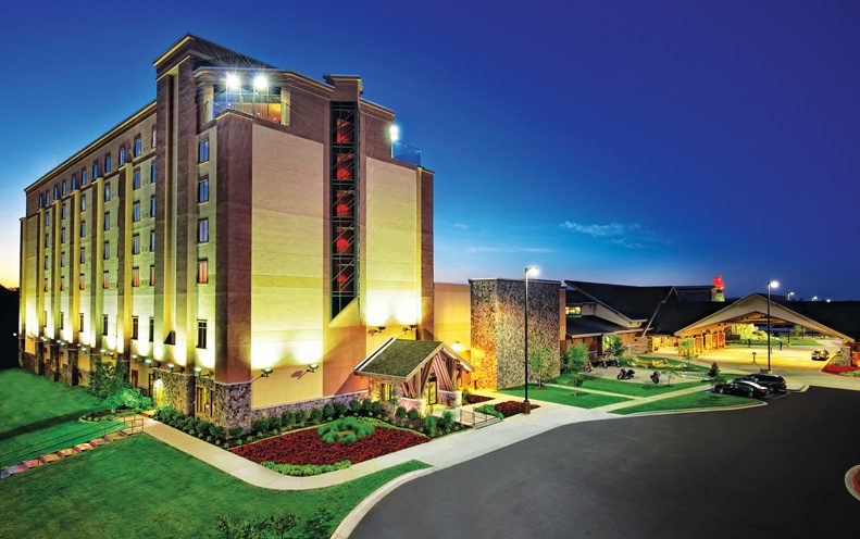 Cherokee Casino & Hotel in West Siloam Springs. Photo courtesy Cherokee Nation Businesses.