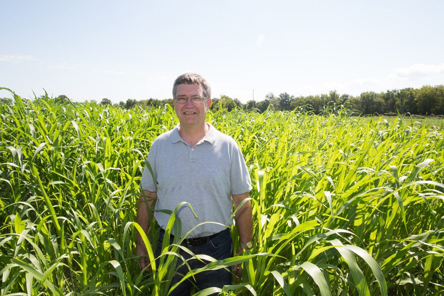 David Redhage grew up on a cattle farm and now parlays his knowledge of sustainable agriculture into educating fellow Oklahomans about best practices.