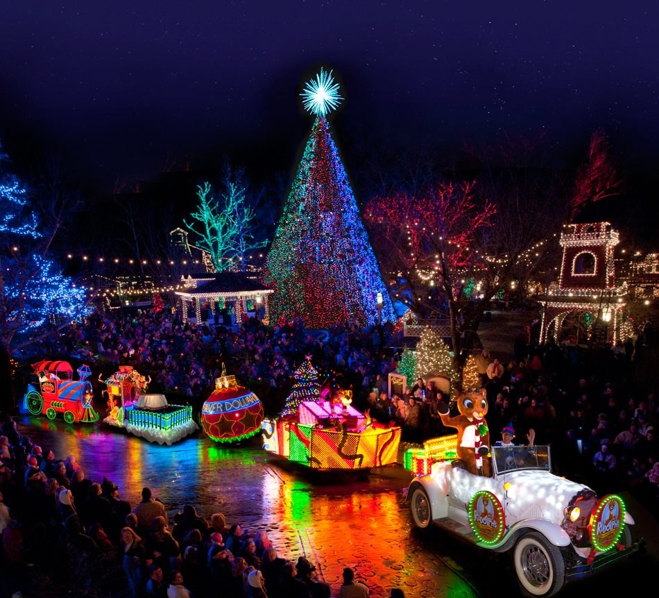 Rudolph's Holly Jolly Christmas Parade takes to the streets of Silver Dollar City. Photo courtesy Silver Dollar City.