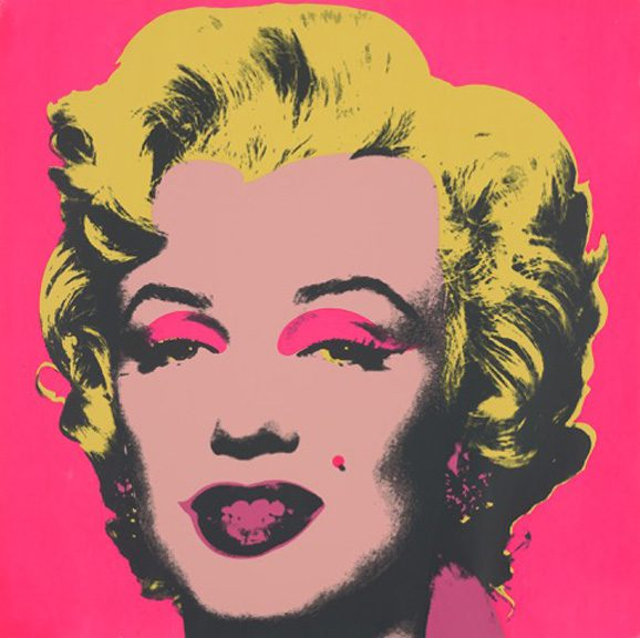 Marilyn Monroe (Marilyn), (11.3.1), Andy Warhol, 1967. Screenprint Collection of the Jordan Schnitzer Family Foundation ©ARS, New York, NY. Photo courtesy Philbrook Museum of Art.