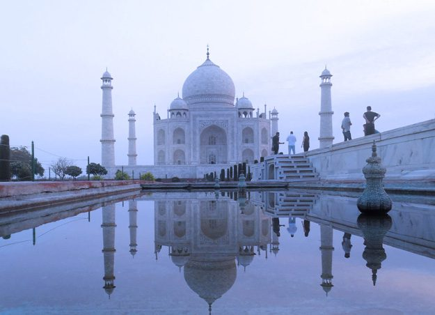 The Taj Mahal is just one of the many marvels you will find in India. Photos by Gina Michalopulos Kingsley.