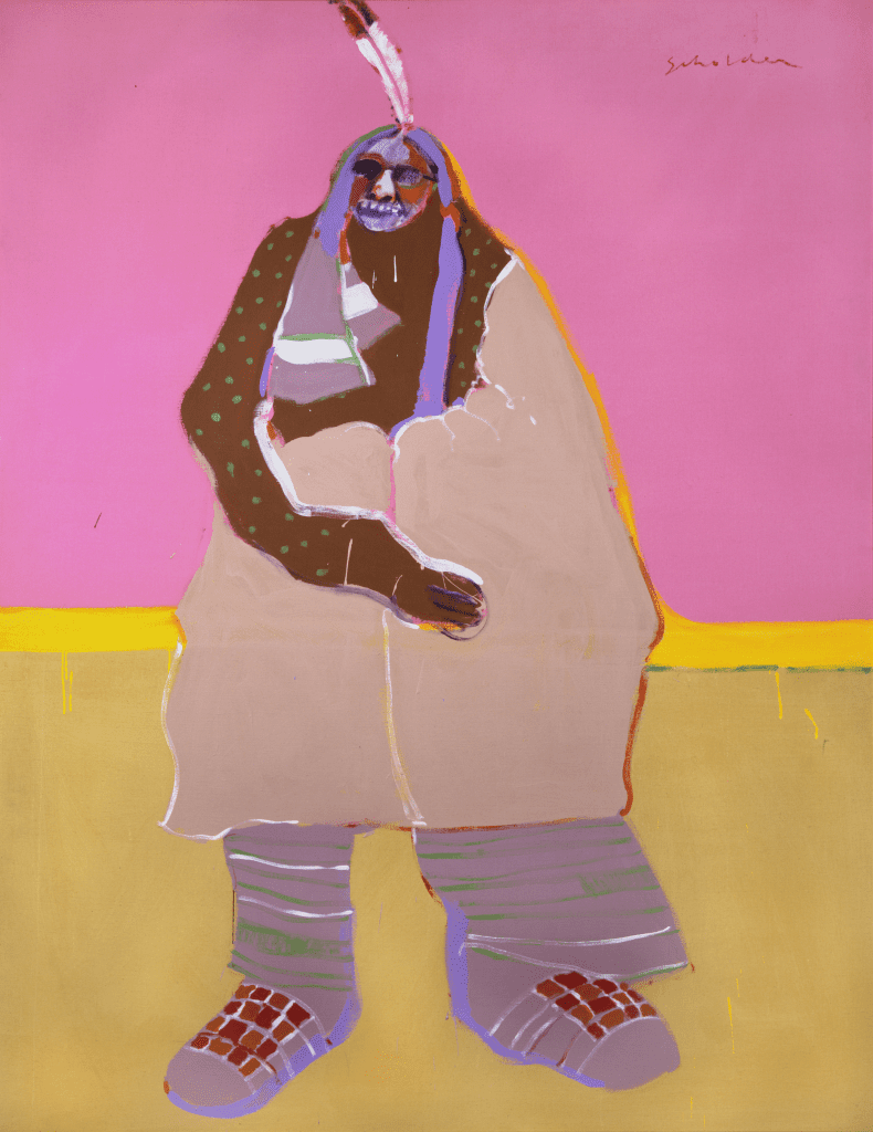 Fritz Scholder (American, 1937-2005) Laughing Indian, CA. 1976.