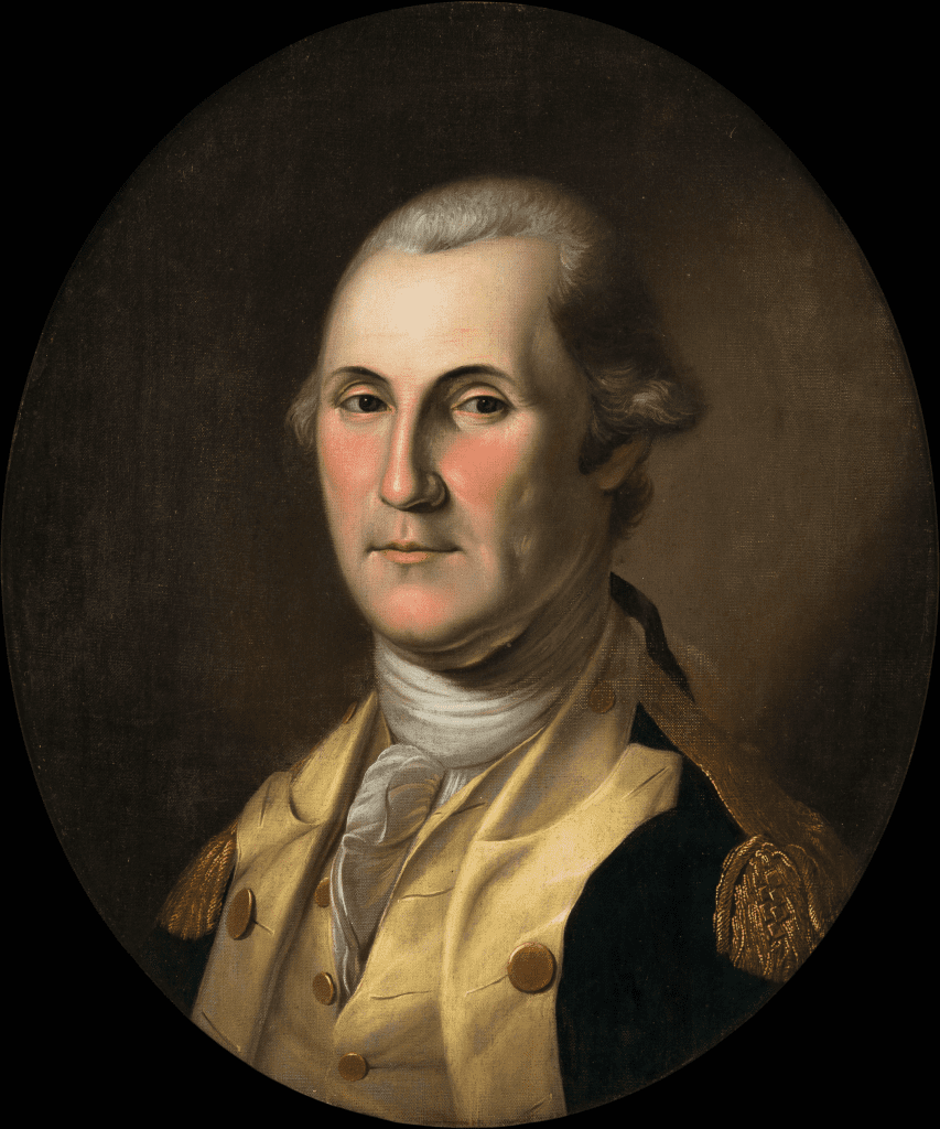 Chales Wilson Peale (American, 1741-1827) George Washington, after 1779.