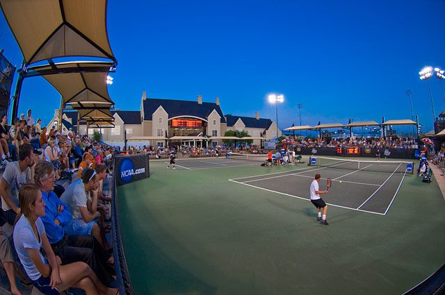 The case tennis center has hosted three NCAA championships since 2004. Photo courtesy The University of Tulsa.