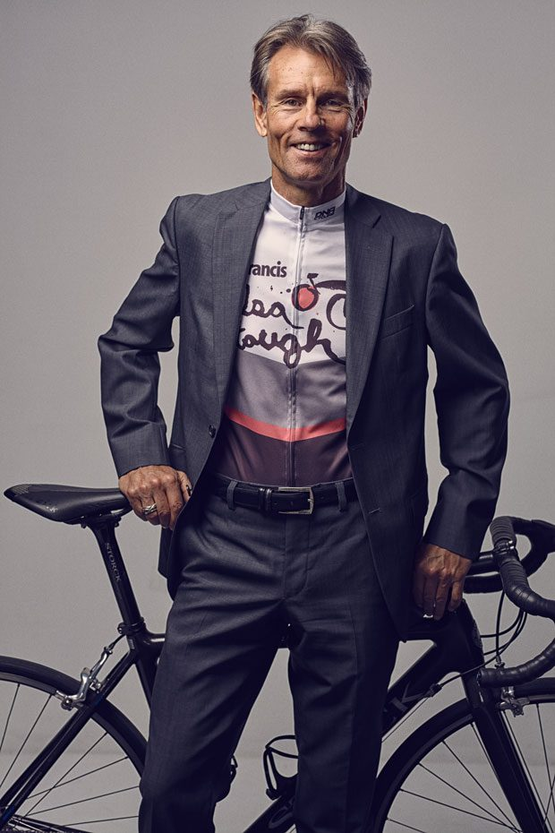 Malcolm McCollam of Tulsa serves as the executive director of Tulsa Tough inc. and is also a competitive racer. Photo by Adam Murphy.