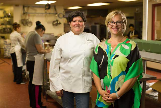 Christine Dowd and Maggie Howell, owners of Aunt Pittypat's Catering, Best Caterer (OKC). Photo by Brent Fuchs.